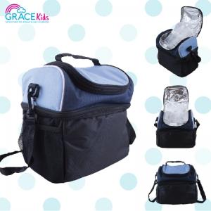 เกรซคิดส์กระเป๋าเก็บอุณหภูมิ 2 ชั้น สีฟ้า