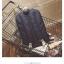 Back pack(กระเป๋าเป้ สะพายหลัง) BA080 สีดำ พร้อมส่ง thumbnail 45