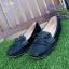 รองเท้าคัทชู ทรง loafer ส้นเตารีด แต่งโบว์สวยน่ารัก หนังนิ่ม พื้นนิ่ม งานสวย ใส่สบาย ส้นสูง 2 นิ้ว แมทสวยได้ทุกชุด (A04) thumbnail 4