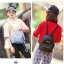 กระเป๋าเป้ผู้หญิง Flora bag สีชมพู thumbnail 11