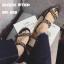 รองเท้าแตะแฟชั่น แบบสวม แต่งโซ่สวยเรียบเก๋สไตล์แบรนด์ ทรงสวยหนังนิ่ม ใส่สบาย แมทสวยได้ทุกชุด (SP612) thumbnail 2