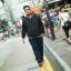 พรีออเดอร์ เสื้อแจ๊คเก็ตกันหนาว แฟชั่นเกาหลีสำหรับผู้ชายไซส์ใหญ่ มีถึง 8xl อก 59.05 นิ้ว แขนยาว เก๋ เท่ห์ - Preorder Large Size Men Korean Hitz Long-sleeved Jacket thumbnail 1