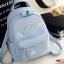 กระเป๋าเป้ผู้หญิง Flora bag สีชมพู thumbnail 2