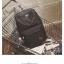 Back pack(กระเป๋าเป้ สะพายหลัง) BA080 สีดำ พร้อมส่ง thumbnail 38