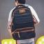 กระเป๋าเป้สะพายหลังสารพัดประโยชน์ สวย ทน เท่ห์ คุณภาพชั้นนำเป็นที่ยอมรับระดับสากล High-quality large-capacity business travel bag shoulder bag personalized leisure backpack men's high school computer bag thumbnail 3