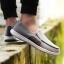 พรีออเดอร์ รองเท้าผ้าใบ เบอร์ 39-48 แฟชั่นเกาหลีสำหรับผู้ชายไซส์ใหญ่ เบา เก๋ เท่ห์ - Preorder Large Size Men Korean Hitz Sport Shoes thumbnail 1