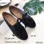รองเท้าคัทชู ทรงผ้าใบ หนังฉลุลายน่ารัก แต่งเชือกผูกสไตล์วินเทจที่ยังคงความคลาสสิค ส้นยางกันลื่นหนา 0.5 ซม. ใส่สบาย แมทสวยได้ทุกชุด (345-106) thumbnail 2