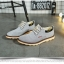 พรีออเดอร์ รองเท้าผ้าใบ เบอร์ 36-48 แฟชั่นเกาหลีสำหรับผู้ชายไซส์ใหญ่ เบา เก๋ เท่ห์ - Preorder Large Size Men Korean Hitz Sport Shoes thumbnail 7