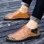 พรีออเดอร์ รองเท้า เบอร์ 38- 47 แฟชั่นเกาหลีสำหรับผู้ชายไซส์ใหญ่ เก๋ เท่ห์ - Preorder Large Size Men Korean Hitz Sandal thumbnail 1