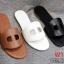 รองเท้าแตะแฟชั่น แบบสวม คาดหน้าสไตล์แอร์เมสสวยเรียบเก๋ หนังนิ่ม พื้นนิ่ม งานสวย ใส่สบาย แมทสวยได้ทุกชุด (DD22) thumbnail 2