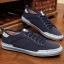 พรีออเดอร์ รองเท้าผ้าใบลำลอง เบอร์ 45-48 แฟชั่นเกาหลีสำหรับผู้ชายไซส์ใหญ่ เบา เก๋ เท่ห์ - Preorder Large Size Men Korean Hitz Sport Shoes thumbnail 2
