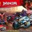 เลโก้จีน LELE.31116 ชุด Ninja Go Street Race of Snake Jaguar