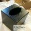 กล่องทิชชูไม้สีดำ กล่องทิชชูลายไม้ thumbnail 2