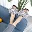 รองเท้าแตะแฟชั่น แบบสวม แต่งโบว์ซาตินใหญ่ติดเพชรคริสตัลสวยหรู หนังนิ่ม งานสวย ใส่สบาย แมทสวยได้ทุกชุด thumbnail 1