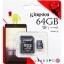 Raspberry Pi Kingston Micro SD Class 10 - 64GB thumbnail 2