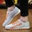 พรีออเดอร์ รองเท้าผ้าใบลำลอง เบอร์ 39-47 แฟชั่นเกาหลีสำหรับผู้ชายไซส์ใหญ่ เบา เก๋ เท่ห์ - Preorder Large Size Men Korean Hitz Sport Shoes thumbnail 3