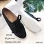 รองเท้าคัทชู ทรงผ้าใบ หนังฉลุลายน่ารัก แต่งเชือกผูกสไตล์วินเทจที่ยังคงความคลาสสิค ส้นยางกันลื่นหนา 0.5 ซม. ใส่สบาย แมทสวยได้ทุกชุด (345-106) thumbnail 4