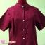 Mom dress เดรสให้นม ทรงเชิ๊ตชายระบาย สีแดงเลือดนก อก 34 thumbnail 5