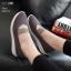 รองเท้าคัทชู ทรงผ้าใบสเกชเชอร์สวยเก๋ ทรงสปอร์ต รัดด้านหน้าเป็นแถบยางยืดได้ พื้นนิ่ม งานสวย ใส่สบาย แมทสวยได้ทุกชุด (265-53) thumbnail 1