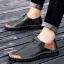 พรีออเดอร์ รองเท้า เบอร์ 38- 47 แฟชั่นเกาหลีสำหรับผู้ชายไซส์ใหญ่ เก๋ เท่ห์ - Preorder Large Size Men Korean Hitz Sandal thumbnail 3