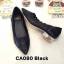รองเท้าคัทชู ส้นเตี้ย แต่งลายฉลุสวยหวาน ส้นเคลือบเงาสวยดูดี หนังนิ่ม ทรงสวย ใส่สบาย ส้นสูงประมาณ 1 นิ้ว แมทสวยได้ทุกชุด (CA080) thumbnail 1