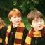ผ้าพันคอไหมพรม หนังแฮรี่ พอตเตอร์ แบบบาง thumbnail 1