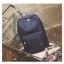 Back pack(กระเป๋าเป้ สะพายหลัง) BA080 สีดำ พร้อมส่ง thumbnail 39
