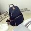 Back pack(กระเป๋าเป้ แฟชั่น สะพายหลัง) BA085 สีน้ำเงิน พร้อมส่ง thumbnail 35