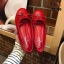 รองเท้าคัทชู ส้นแบน ทรงหัวมน แต่งโบว์ประดับ CC เรียบหรูน่ารักสไตล์ชาแนล หนังนิ่ม ทรงสวย ใส่สบาย แมทสวยได้ทุกชุด thumbnail 1