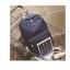 Back pack(กระเป๋าเป้ สะพายหลัง) BA080 สีดำ พร้อมส่ง thumbnail 43