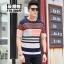 พรีออเดอร์ เสื้อกันหนาว แฟชั่นเกาหลีสำหรับผู้ชายไซส์ใหญ่ อกใหญ่สุด 57.48 นิ้ว แขนยาว เก๋ เท่ห์ - Preorder Large Size Men Korean Hitz Long-sleeved Jacket thumbnail 3
