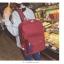Back pack(กระเป๋าเป้ สะพายหลัง) BA080 สีดำ พร้อมส่ง thumbnail 54