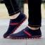 พรีออเดอร์ รองเท้าผ้าใบลำลอง เบอร์ 39-47 แฟชั่นเกาหลีสำหรับผู้ชายไซส์ใหญ่ เบา เก๋ เท่ห์ - Preorder Large Size Men Korean Hitz Sport Shoes thumbnail 7