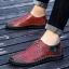 พรีออเดอร์ รองเท้า เบอร์ 38- 47 แฟชั่นเกาหลีสำหรับผู้ชายไซส์ใหญ่ เก๋ เท่ห์ - Preorder Large Size Men Korean Hitz Sandal thumbnail 4