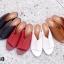 รองเท้าแฟชั่น ส้นสูง แบบสวม แต่งตะเข็บหน้าสวยเรียบเก๋สไตล์แอร์เมส หนังนิ่ม ทรงสวยเก็บหน้าเท้า ใส่สบาย แมทสวยได้ทุกชุด (HT09) thumbnail 2