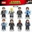 เลโก้จีน XINH.783-790 ชุด Super Heroes (สินค้ามือ 1 ไม่มีกล่อง)