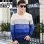 พรีออเดอร์ เสื้อกันหนาว แฟชั่นเกาหลีสำหรับผู้ชายไซส์ใหญ่ อกใหญ่สุด 57.48 นิ้ว แขนยาว เก๋ เท่ห์ - Preorder Large Size Men Korean Hitz Long-sleeved Jacket thumbnail 10