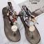 รองเท้าแตะแฟชั่น รัดข้อ งานนำเข้า summer collection สุดเก๋ รองเท้าเล่นน้ำสงกรานต์ หรือเที่ยวทะเล ต้องไม่พลาด ซิลิโคนยาง แบบใหม่ล่าสุด สไตล์ jelly shoes ซิลิโคนนิ่มแบบหูคีบผูกผ้าได้ตามสไตล์ พื้นยางกันลื่น ทนแดดทนฝน สวยแบบไม่กลัวเปียก สีดำ เทา แมทสวยได้ทุกช thumbnail 2