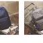 Back pack(กระเป๋าเป้ สะพายหลัง) BA080 สีดำ พร้อมส่ง thumbnail 8