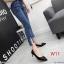 รองเท้าคัทชู ส้นเตี้ย แต่งอะไหล่สวยหรู ทรงสวย หนังนิ่ม งานสวย ส้นสูงประมาณ 2.5 น้ิ้ว ใส่สบาย แมทสวยได้ทุกชุด (K9352) thumbnail 3