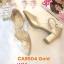 รองเท้าคัทชู รัดส้น ส้นเตี้ย แต่งลายฉลุปักผีเสื้อสวยหวาน หนังนิ่ม ทรงสวย ใส่สบาย ส้นสูงประมาณ 2.5 นิ้ว แมทสวยได้ทุกชุด (CA9504) thumbnail 1