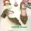 รองเท้าคัทชูุ ส้นเตี้ย รัดส้น แต่งอะไหล่สวยเก๋ หนังนิ่ม ทรงสวย ส้นตัดสูงประมาณ 2.5 นิ้ว ใส่สบาย แมทสวยได้ทุกชุด (CA038) thumbnail 1