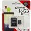 Raspberry Pi Kingston Micro SD Class 10 - 16GB thumbnail 2