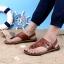 พรีออเดอร์ รองเท้าแตะ เบอร์ 36-47 แฟชั่นเกาหลีสำหรับผู้ชายไซส์ใหญ่ เก๋ เท่ห์ - Preorder Large Size Men Korean Hitz Sandal thumbnail 5