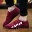 พรีออเดอร์ รองเท้าผ้าใบลำลอง เบอร์ 39-47 แฟชั่นเกาหลีสำหรับผู้ชายไซส์ใหญ่ เบา เก๋ เท่ห์ - Preorder Large Size Men Korean Hitz Sport Shoes thumbnail 4