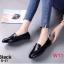 รองเท้าคัทชู ส้นเตี้ย แต่งอะไหล่เรียบเก๋ดูดี ทรงสวย หนังนิ่ม ใส่สบาย แมทสวยได้ทุกชุด (B-21) thumbnail 1
