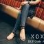 รองเท้าแตะแฟชั่น สวมนิ้วโป้ง รัดข้อ สายไขว้ข้อเท้า สไตล์แอร์เมส งานสวย ชน shop หนัง PU ตะขอเกี่ยวใส่ง่าย แมทส์ชุดง่าย ใส่สบาย น้ำหนักเบา หนังนิ่ม ทรงสวย ใส่สบาย แมทสวยได้ทุกชุด ดำ ขาว ครีม (G-1332) thumbnail 3