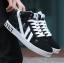 พรีออเดอร์ รองเท้ากีฬา เบอร์ 36-48 แฟชั่นเกาหลีสำหรับผู้ชายไซส์ใหญ่ เบา เก๋ เท่ห์ - Preorder Large Size Men Korean Hitz Sport Shoes thumbnail 3