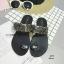 รองเท้าแตะแฟชั่น แบบสวมนิ้วโป้ง แต่งอะไหล่คริสตัลสวยหรูสไตล์เกาหลี วัสดุอย่างดี หนังนิ่ม งานสวย ใส่สบาย แมทสวยได้ทุกชุด (A816) thumbnail 3