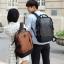 กระเป๋าเป้สะพายหลังสารพัดประโยชน์ สวย ทน เท่ห์ คุณภาพชั้นนำเป็นที่ยอมรับระดับสากล High-quality tide brand men's computer shoulder bag European and American style high-capacity travel bag backpack Japanese waterproof bag thumbnail 2